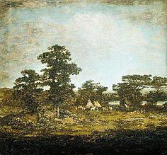 An Indian Encampment  Ralph Albert Blakelock (1847–1919)  Date: ca. 1880–1900  Courtesy of The Metropolitan Museum of Art.