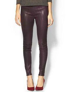 J Brand Leather Legging | Piperlime