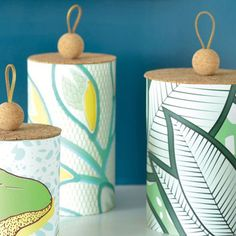 cork lids for upcycled aluminium cans