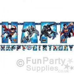 Justice-League-Letter-Banner