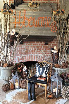 How to Decorate for Halloween: Dark, Spooky Forest