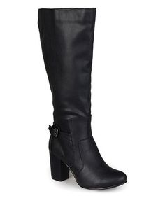 Another great find on #zulily! Black Jimmi Boot #zulilyfinds