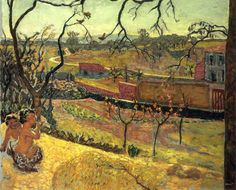 Early Spring (Little Fauns) via Pierre Bonnard Size: 125x102 cm Medium: oil on canvas