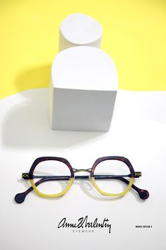 ANNE & VALENTIN Eyewear - Model DESSIN 4 - LUNETTE ANNE ET VALENTIN