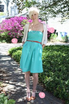 Lorelei dress + Skinny belt