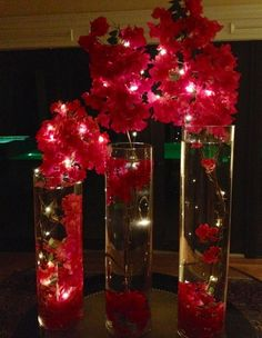 Create stunning table displays, arrangements and centerpieces with waterproof LED Lights by infinitegift.com that include a 6 hour on 18 hour off timer. Add lightening Indoor or Outdoors. For plants, decor or parties!