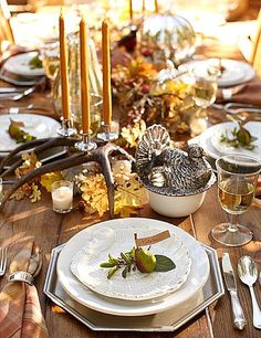 Peonies and Orange Blossoms: 20 Inspiring Thanksgiving Table Ideas