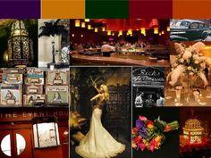 moroccan/casablanca vintage theme board
