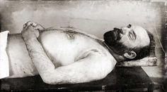 Cemal paşa otopsi masasında:resmen bir gün uyanacağım diyor
