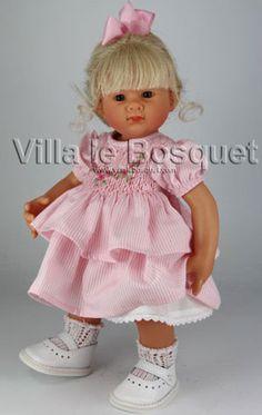 POUPEE ORIGINAL MÜLLER-WICHTEL JULIE - poupée de collection de Rosemarie Müller