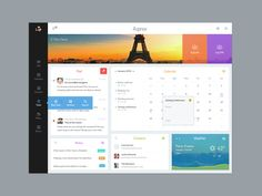 Great dashboard UI designs are developed daily to remind us of the possibilities we have to present data. Dashboard Interface, Web Dashboard, Analytics Dashboard, Ui Web, Dashboard Design, User Interface Design, Apps, Intranet Design, Desktop Design
