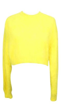 Givenchy Womens Sweater Yellow Polyamide -. Free shipping and guaranteed authenticity on Givenchy Womens Sweater Yellow Polyamide - at Tradesy. <br>Givenchy Women's Yellow Polyamide Crewneck Swe...