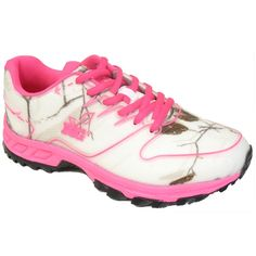 Realtree Girl WOMENS Mamba Camo Tennis Shoe (Hot Pink  7f357bf75