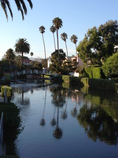The canals of Venice....California
