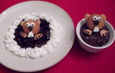 Groundhog desserts -- wait, who says these are just for kids?