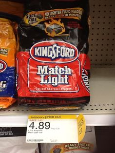$3 off Kingsford Charcoal | 6.7lb Kingsford Match Light Only $1.89 at Target