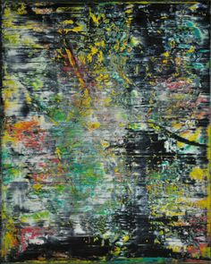 Abstract painting by Jakob Weissberg, 2014, oil on canvas, 150x120cm