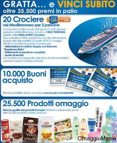 Concorso a premi Eurospin: vinci casa, crociere, buoni sconto e prodotti gratis - http://www.omaggiomania.com/concorsi-a-premi/concorso-premi-eurospin-vinci-casa-crociere-buoni-sconto-prodotti-gratis/