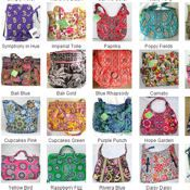 Find every Vera Bradley pattern and style c12548ae0a0bb