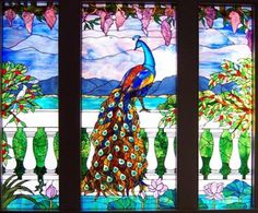 Tiffany Style Windows - Stained Glass by JINI