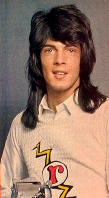 A dreamy Rick Springfield in1973.  WOW!  I only knew the 80's one.  I'm wondering if this is photoshop.