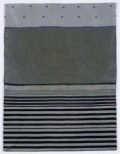 """Louise Bourgeois (1911-2010)  """"Untitled"""" 2005. #stripes #striped"""
