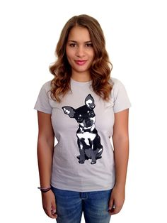 The Dog Squad Women's Chiwowow T-Shirt, Medium >>> Wow! I love this. Check it out now! : Dog shirts