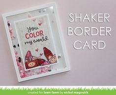 Lawn Fawn | Color My World Stamp Set