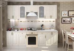 Kuchynská zostava VERONIKA 260 v klasickom štýle. Hrany sú opatrené ABS. Dvierka sú vyrobené z kvalitnej MDF. Farebné prevedenie jaseň zlatý. #byvanie #domov #nabytok #kuchyne  #kuchynskelinky #modernynabytok #designfurniture #furniture #nabytokabyvanie #nabytokshop #nabytokainterier #byvaniesnov #byvajsnami #domovvashozivota #dizajn #interier #inspiracia #living #design #interiordesign #inšpirácia Verona, Kitchen Cabinets, Furniture, Home Decor, Decoration Home, Room Decor, Cabinets, Home Furnishings, Home Interior Design