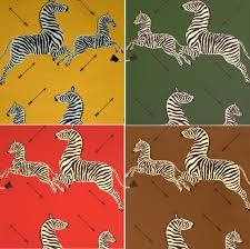 Scalamandre Zebras Fabric, by the Yard //