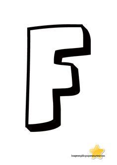 Letra f para imprimir letras grandes para imprimir                                                                                                                                                                                 Más