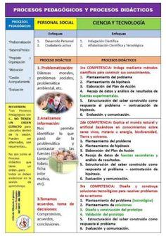 """Teresa Clotilde Ojeda Sánchez: """"Procesos Pedagógicos y Procesos Didácticos de Per..."""