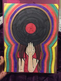 #Art 03.11.16 #Vinyl ❤️  By: EMerald