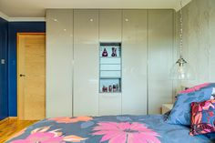 These floor to ceiling wardrobes use every mm of available space Living Room Storage, Storage Room, Floor To Ceiling Wardrobes, Made To Measure Wardrobes, Design Projects, Bean Bag Chair, House Design, Flooring, Interior Design