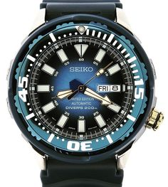 What a stunner . This is the limited edition baby blue tuna . If you find one , buy it , pronto ! #seiko #seikotuna #seikotunacan #prospex #seikoprospex #orientwatch #citizenwatch #japan #japanesedivers #seiko_citizen_orient_direct #horology #wristwatches #watchesfordivers #divewatches #womw #wotd #watchesofinstagram