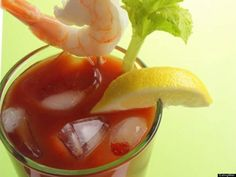Seafood  Want some serious wow-factor on your bar? Spear some small cooked shrimp on toothpicks, or even a raw, pickled, or smoked oyster. Seafood is a great complement to the flavors in a Bloody Mary, and it will help reveal which of your friends are the most adventurous eaters.
