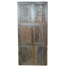 A wide selection of old world palace doors, architectural imports from India at Mogulinterior. antique doors, rustic doors, barn doors and artisan carved doors in teak wood. Antique Armoire, Antique Doors, Old Doors, Barn Doors, Indian Doors, Rustic Luxe, Vintage Doors, Rustic Doors, Ancient Symbols