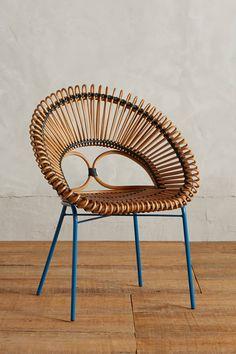 2 end chairs...Looping Apasra Chair - anthropologie.com