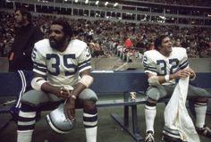 WALT GARRISON DALLAS COWBOYS | : Dallas Cowboys RB Calvin Hill #35 with teammnate Walt Garrison ...