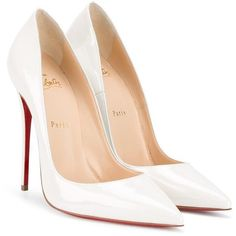 Designer Clothes, Shoes & Bags for Women Christian Louboutin Heels, Pumps Heels, Stiletto Heels, Extreme High Heels, Red High Heels, White Pumps, Pointed Toe Pumps, Fashion Shoes, Outfits