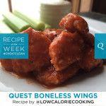 Quest Nutrition Super Bowl Boneless Wings Recipe