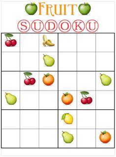 Es recomendable tomar entre 2-4 piezas de fruta al día porque nos proporciona vitaminas, como la B5 muy presente en las manzanas… si no te las comes, por lo menos podrás entretenerte con este fruit sudoku jiji