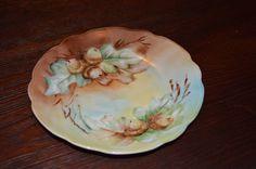 M.Z. Austria #Moritz Zdekauer Hand Painted Decorative Plate