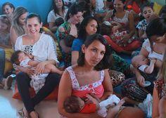 Semana da Amamentação é marcada por mamaços em todo país