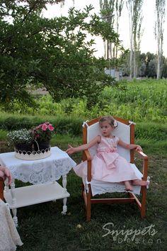Flower Girl Country Chic Barn Wedding