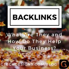 How much do you know about backlinks? Make sure you know exactly how they can help your business by reading this blog post http://www.gtechdesigns.com/backlinks-what-are-they-and-how-do-they-help-your-business/  #backlinks #searchengine #links #website #onlinemarketing #blogpost #SEO #socialmedia #trending #success #business #marketing #tips #professional #sales #inspiration #company #blog #branding
