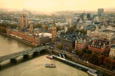 Tiltshift City Photography   by Ben Thomas