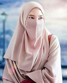 Girls picture in Hijab Hijab Gown, Hijab Niqab, Hijab Chic, Hijabi Girl, Girl Hijab, Muslim Girls, Muslim Women, Muslim Veil, Muslimah Clothing