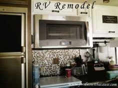 Take a look at our RV remodel. We are a family of 8 living FULL time in our RV.