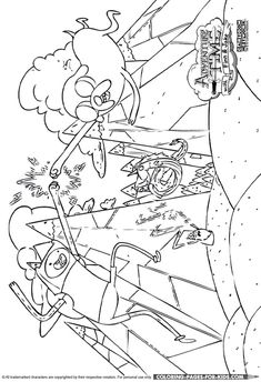 Adventure Time coloring page Coloring Pages of Epicness